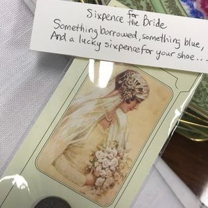 Vintage Other - Sixpence for the Bride Wedding Token